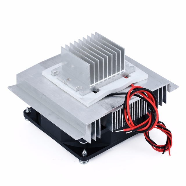 DC 12V Thermoelectric Peltier Refrigeration Cooling System Semiconductor Air Conditioner Cooler DIY Kit 4