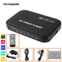1080P Full HD HDD Media Player INPUT SD USB HDD Output HDMI AV VGA AV YPbpr