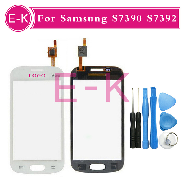 Original Touch Screen For Samsung Galaxy Trend Lite S7390 S7392 With Digitizer Black&White Free Shipping+Free Tools