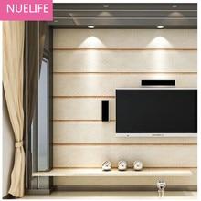 0.53x10m Mediterranean Wallpaper Plane Pattern Nonwovens Bedroom Living Room Background Wall Vertical Striped Wallpaper N2