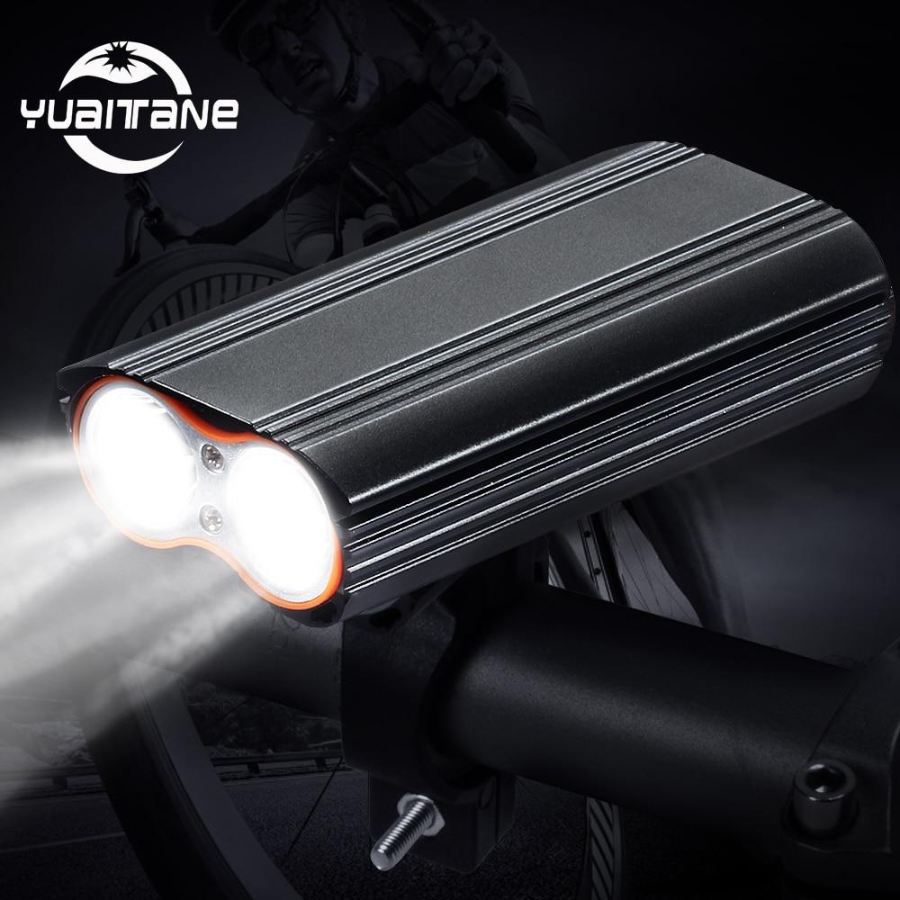 XML T6 DEL Rechargeable Lumière Mtb Front Mountain Bike Headlight Head Torch