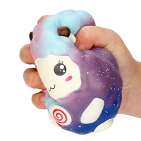 12cm Cartoon Kawaii Sheep Squishy Slow Rising Scented Squeeze Toy Collection Cure Best Gift Sweet Smelling