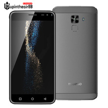 En Stock BLUBOO Xfire 2 5.0 pulgadas 2.5D IPS HD de pantalla Android 5.1 1 GB + 8 GB ROM MTK6580 1.2 GHz Quad Core 8.0MP de identificación táctil del teléfono móvil