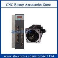 AC servo motor 180ST M27015 AC380V Servo motor 4.3KW 27N.M 1500rpm AC Servo Motor + 380V Servo driver with 3 meter cable