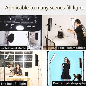 Image 5 - GSKAIWEN 60W LED oświetlenie studia fotograficznego zestaw lampa wideo Panel regulowane światło ze statywem do zdjęć portretowych