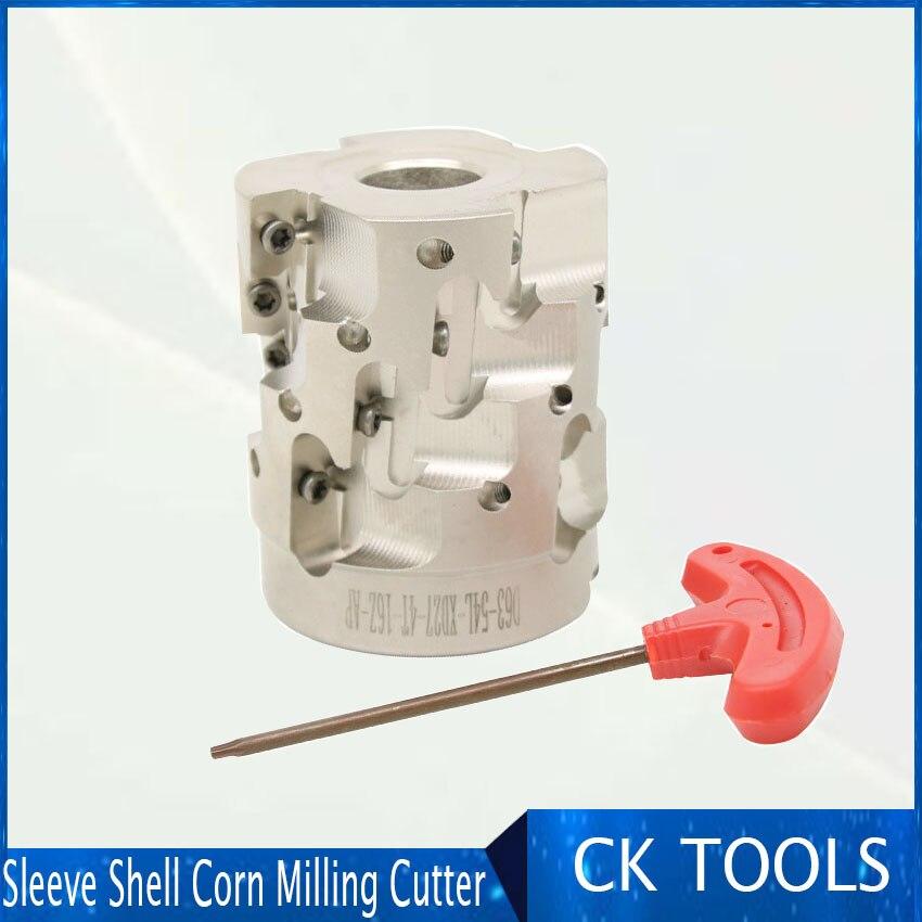 Alta eficiência máquina de trituração do milho casca de manga grossa-lado aberto em linha reta-handle 50mm 63 milímetros relatório personalizado para APMT1604 moinho rosto