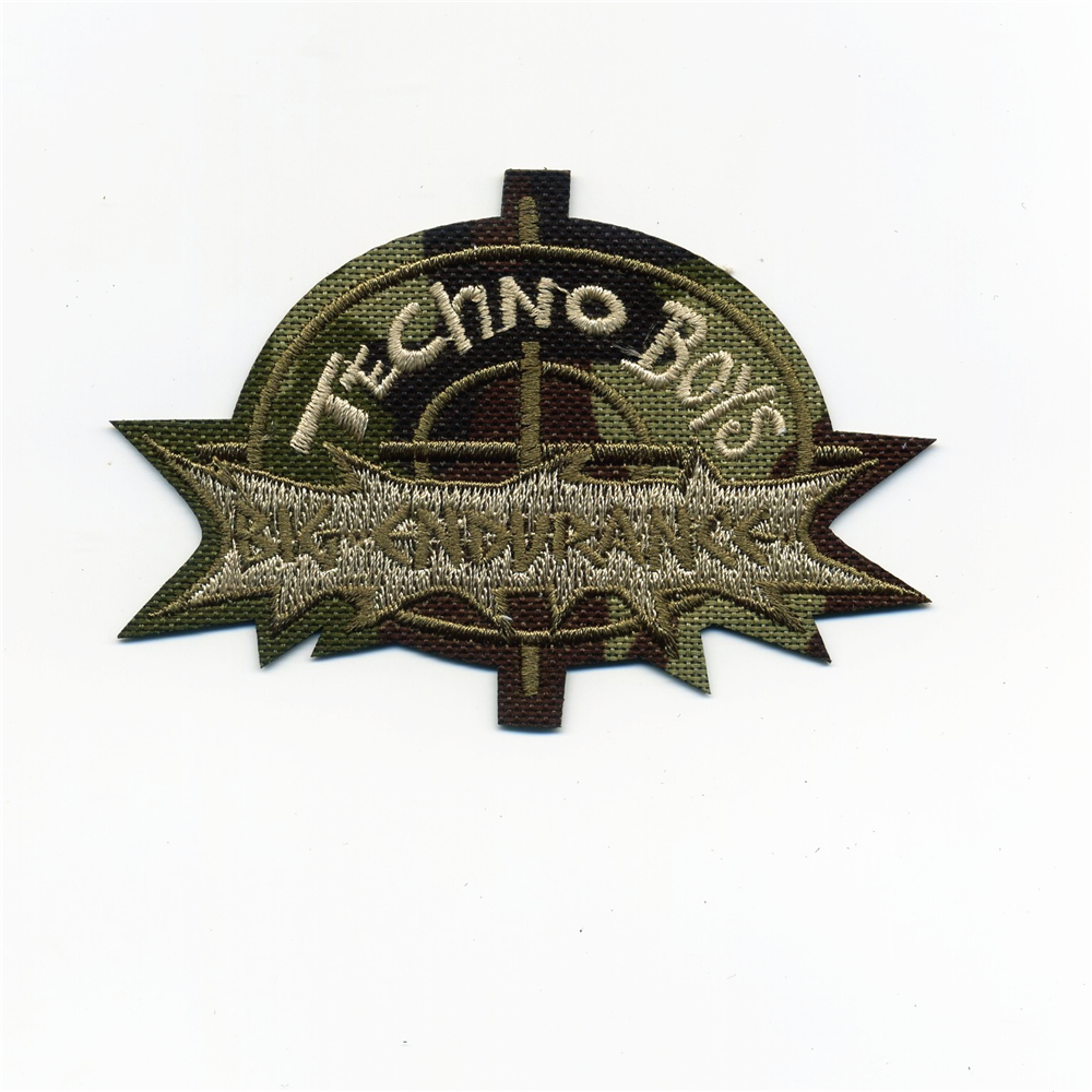 MILITARY INSPIRED 3 STARS EMBROIDERED IRON ON PATCH