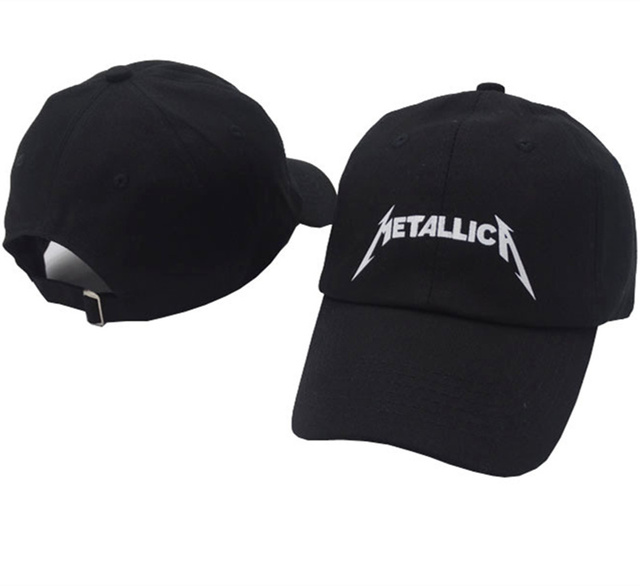 f751ffad8 TUNICA band Metallica European and American Rock Music Baseball Cap  Adjustable High Quality Dad Hats Men Women Street Snapback-in Baseball Caps  from ...