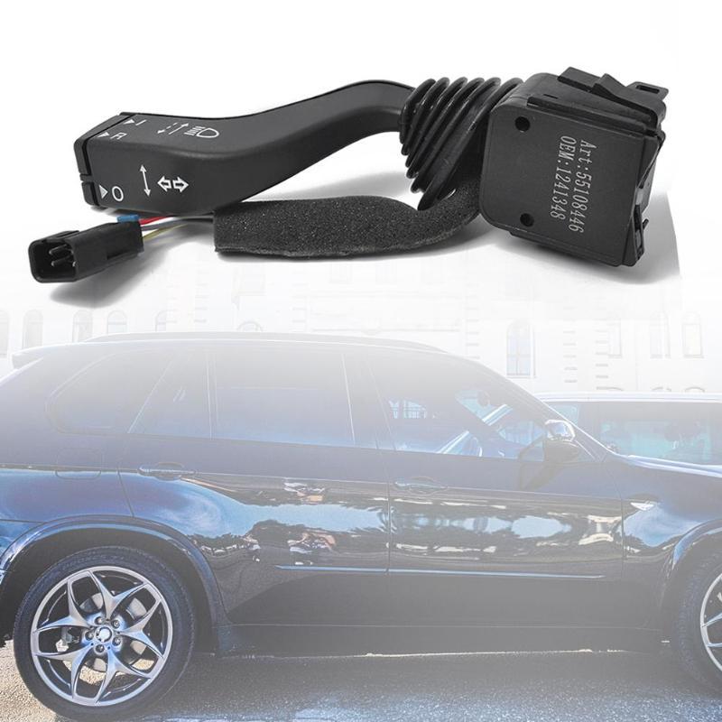 VODOOL Coluna de Direcção Do Carro Auto Interruptor Indicador de Substituição Interruptor Turno Acessórios 1241348 Para Opel/Vauxhall zAFIRA UM Astra G
