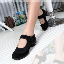 Newest Spring High Heel Lady Casual Shoes Square Heel Women