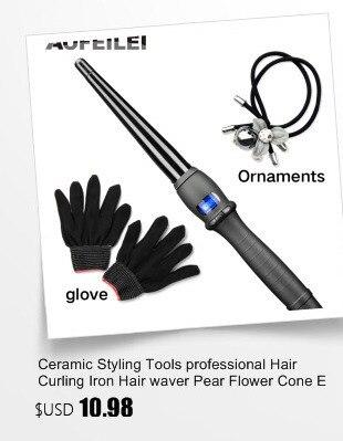 cabelo automático cerâmica cone salão curling ferros