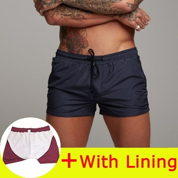 New Mens Swimsuit Sexy Swimwear Men Swimming Shorts Men Briefs Beach Shorts Sports Suits Surf Board Shorts Men Swim Trunks 12