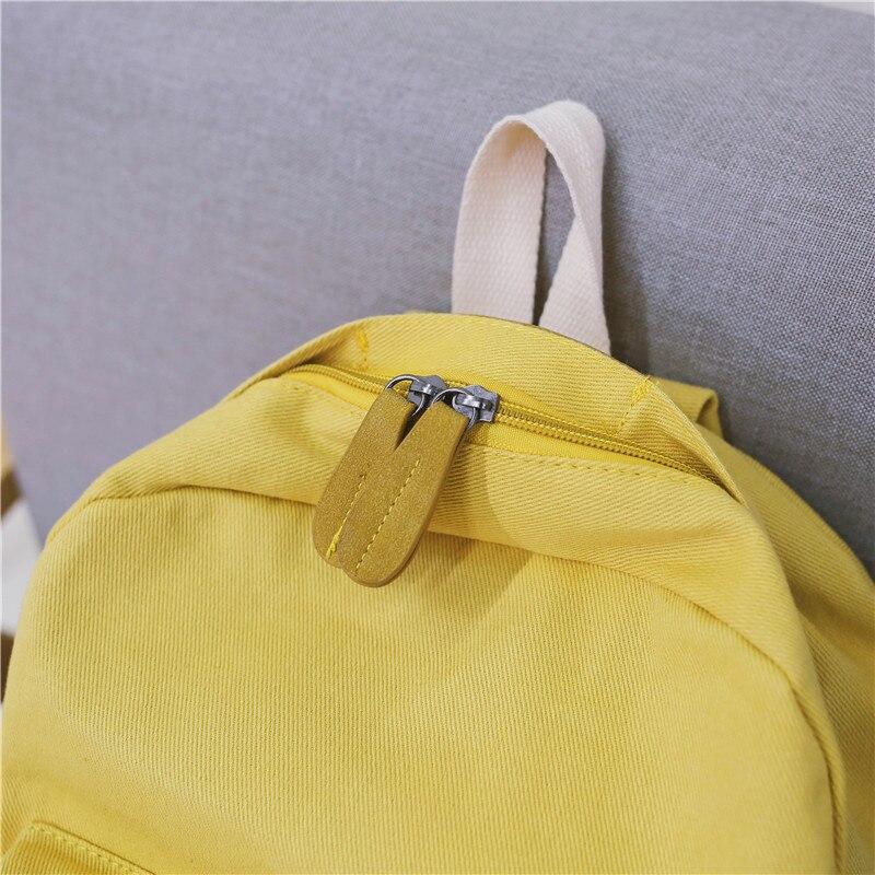HTB1aL1pXOHrK1Rjy0Flq6AsaFXaj 2019 Women Canvas Backpacks Ladies Shoulder School Bag Backpack Rucksack for Girls Travel Fashion Bag Bolsas Mochilas Sac A Dos