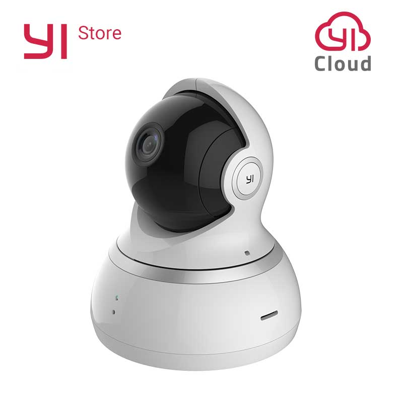 YI Dome Camera 1080P Pan Tilt Zoom Wireless IP Baby Monitor Security Surveillance System 360 Degree