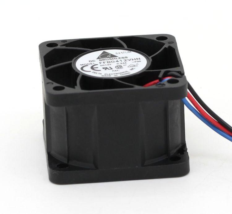 Delta FFB0412VHN 40 * 40 * 28 mm 4 cm 40 mm ventilator DC 12V 0. 24A - Computer componenten - Foto 6
