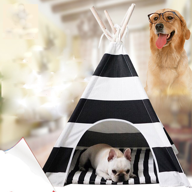 New design Dog Bed Dog House Pet play House play teepee tent lovely warm dog play bed with mat together & Online Shop New design Dog Bed Dog House Pet play House play ...