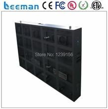 Leeman P10 наружная реклама из светодиодов экран вывеска перемещение электронной цифровой панели кабинет сообщение щит