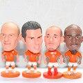 6.5 cm Copa Do Mundo Robin Van Persie Holanda Arjen Robben Wesley Sneijder Jérsei de futebol do Futebol Figura De Jong Euro 2016