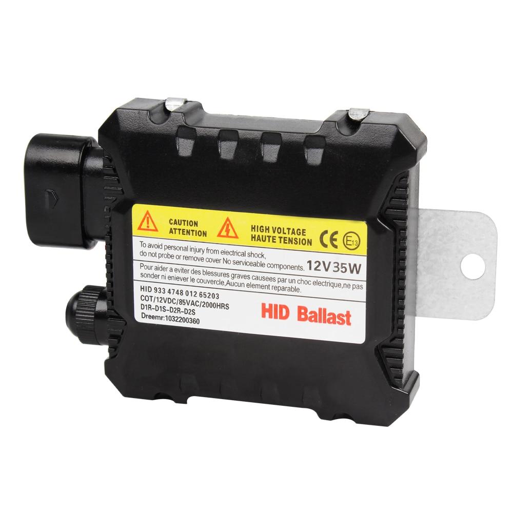 1 Pair HID Replacement 35W Digital Slim Ballast DC 12V Xenon HID Ballast Ignitor H1 H3 H4 H7 H11 #HP best promotion ac digital 35w slim for hid xenon replacement ballast universal h7 h1 h3 h11