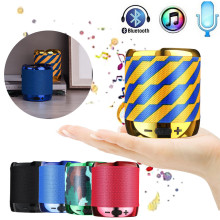цена Loudspeaker Bluetooth Speaker Portable Stereo Handsfree Music Square Box Mini Wireless Speaker for Compute Phone PC