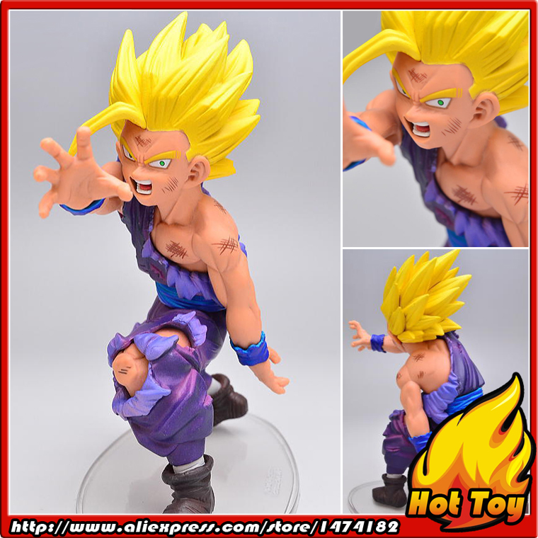 100% Original Banpresto DRAMATIC SHOWCASE 1st Season Vol.1 Collection Figure - Super Saiyan Son Gohan from Dragon Ball Z 100% original banpresto dxf fighting combination vol 3 complete collection figure gotenks super saiyan 3 from dragon ball z
