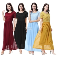 Fashion Muslim Abaya Islamic Clothing For Women Muslim Abaya dress Dubai caftan Dress abaya Lady Chiffon Dress