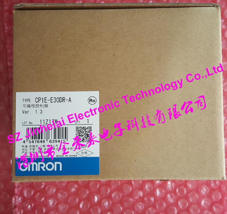 CP1E-E30DR-A New and original OMRON PLC CONTROLLER , PLC MODULE new original 1764 mm2rtc plc memory module and real time clock 1500