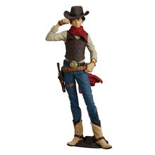 Anime 1/8th Scale One Piece Treasure Cruise World Journey Vol.1 Cowboy Monkey D Luffy Action PVC Figure Toy Brinquedos 20CM