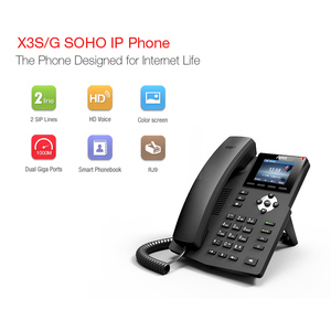 Image 3 - SIP telephone multimedia video sip phone call center telephone new design desk corded VoIP phone