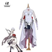 ROLECOS 2017 New Phone Game SINoALICE Cosplay Costumes Justice Snow White Women Cosplay Costumes Full Sets