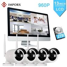 купить 4CH Wifi CCTV System Wireless NVR Kit 13