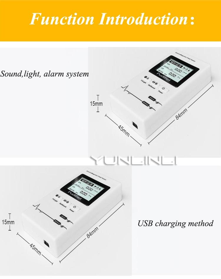 casa lcd alta tensão instrumento monitoramento radiação 620