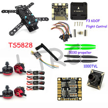 Actualiza drone con cámara RC avión QAV 250 PRO de Carbono F3 de fibra Mini Quadcopter Vuelo Controlador emax RS2205 2300KV Motor
