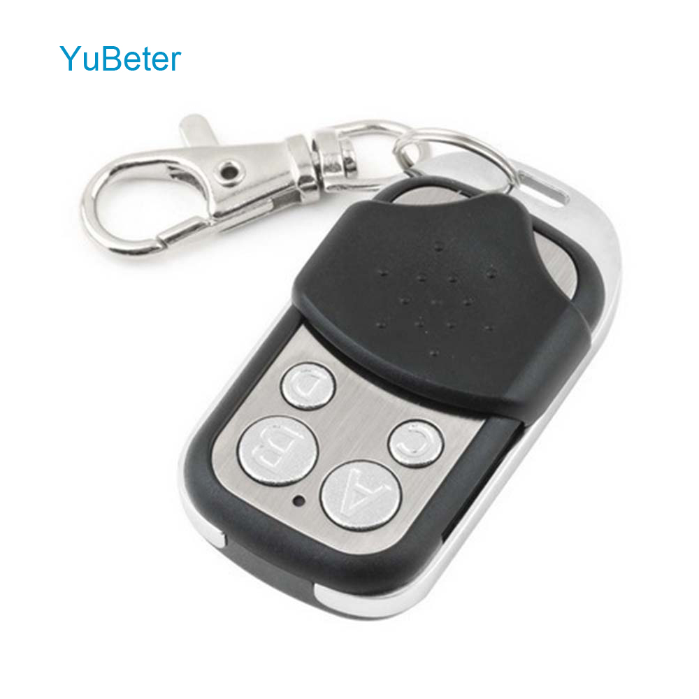 YuBeter Wireless Universal 433 Mhz RF Remote Control /433 Mhz EV1527 Learning code Remote Control 4 Channel For Gate Garage Door(China)