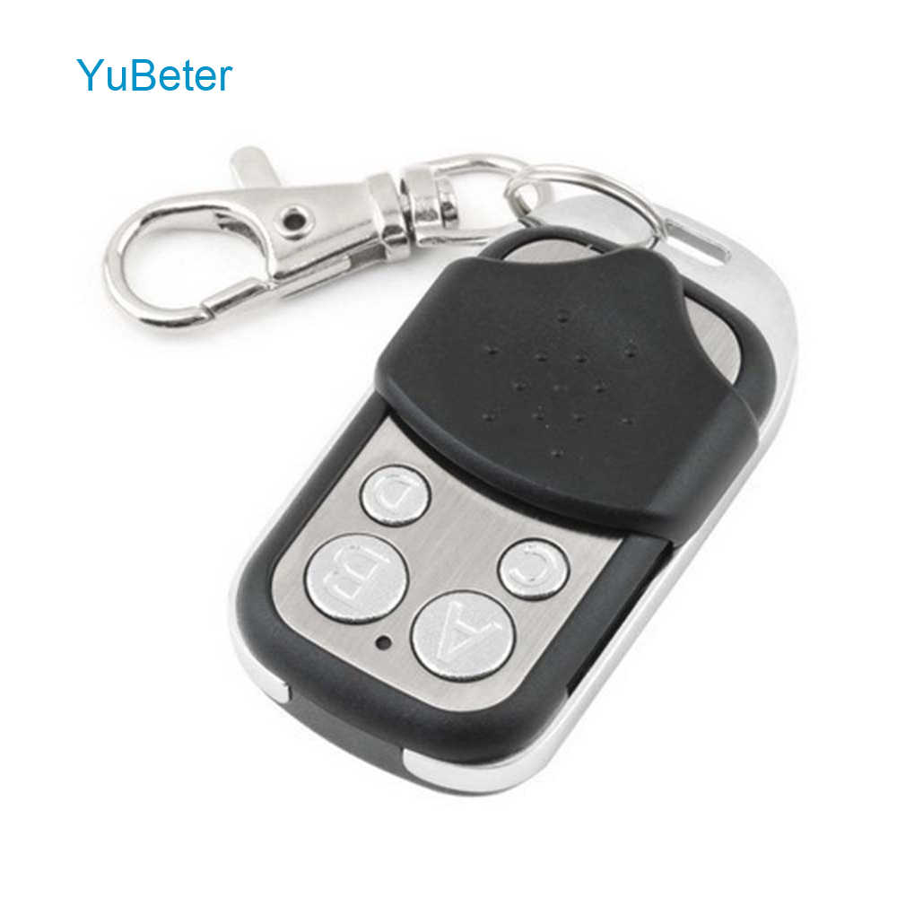 YuBeter Wireless Universal 433 Mhz RF Remote Control /433 Mhz EV1527 Learning code Remote Control 4 Channel For Gate Garage Door