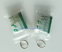 Wholesale 1000Pcs/Lot PVC CPR Resuscitator Mask Transparent Keychain CE/FDA Approved Emergency Face Shield First Aid Rescue Kit