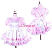 Hot Sale Custom Made Womens Anime Plaid Maid Dress Lolita Uniform Cosplay Costume