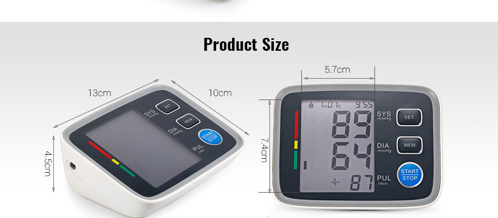 blood pressure pulse monitors