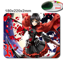 Cartoon characters custom fast printing rubber gaming Mouse Pad size is 180 mm * 220 mm * 2 mm Computer and Laptop Mouse Pad