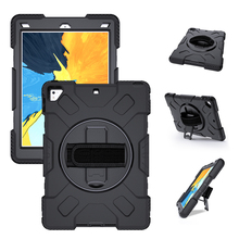Case for iPad Pro 9.7 Air 2 iPad 5 6 Heavy Duty Armor Tablet Cover with 360 Degree Rotation Hand Strap-Miesherk Protection Shell недорого