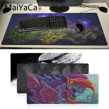 MaiYaCa Top Quality hot anime mouse pad gamer play mats Large Gaming Mouse Pad Lockedge Mouse Mat Keyboard Pad