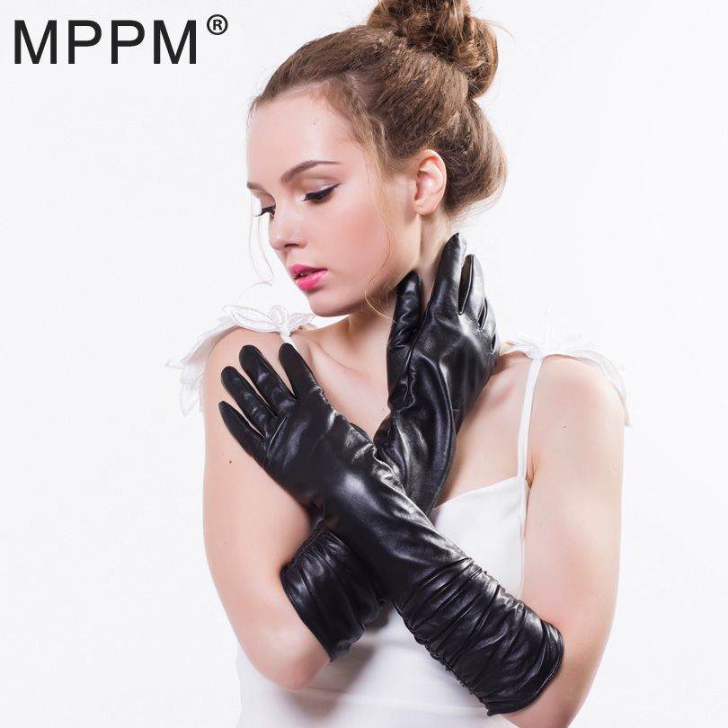 Apparel Accessories Special Section Winter Fur Gloves For Women Winter Gloves Genuine Rex Rabbit Fur Real Leather Glove Russian Fox Fur Glove&mittens Lined