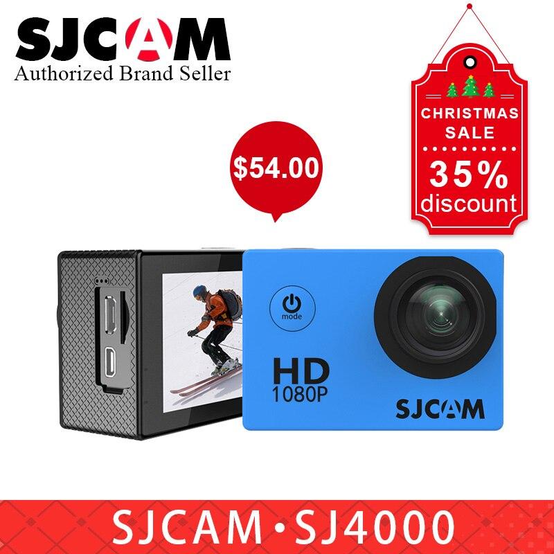"100% Original Sjcam Sj4000 Grundlegende Action Kamera Wasserdichte 1080 P Helm Kamera Hd 2,0 ""sport Kamera Auto Register Dvr Vs Eken H9r"
