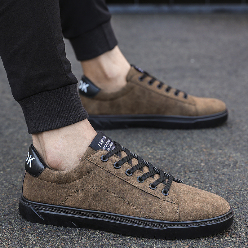 2018 Flock Men Casual Shoes Spring Autumn Classic Fashion Male Lace Up Flats Comfortable Sneakers Mens Trainers Chaussure Homme 2017 mens casual shoes hot sale mens trainers for men lace up breathable fashion summer autumn flats male shoes adult sneakers