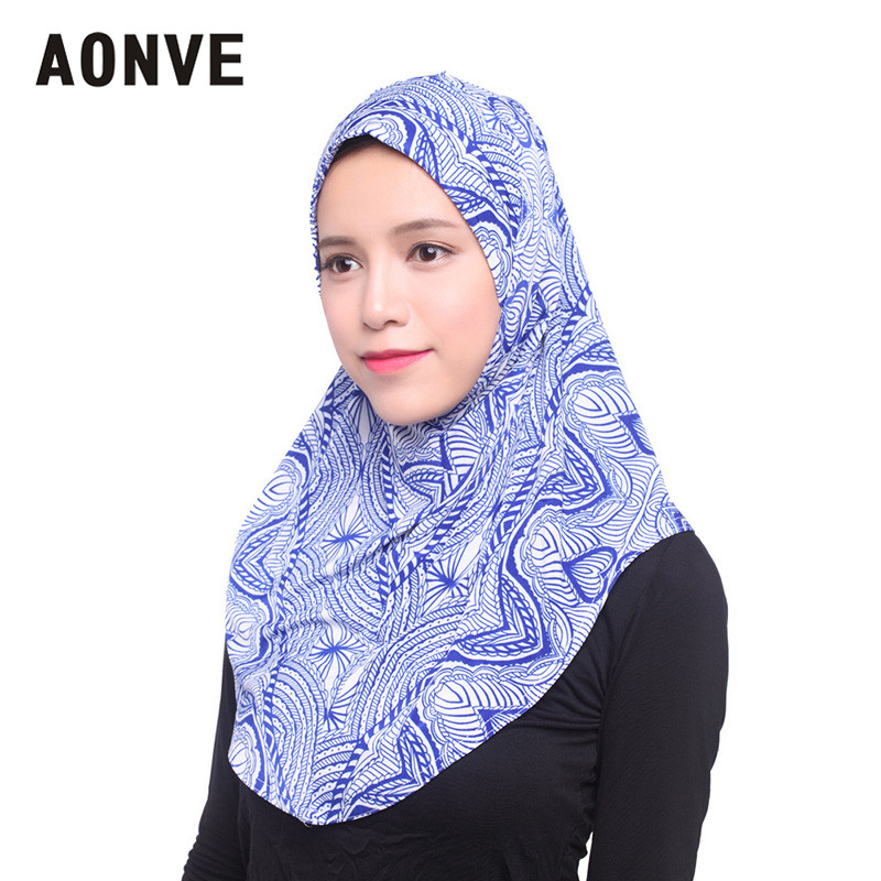 Aonve Islamic Women Instant Hijab Casual Inner Head Neck Covering Turban  Ladies Muslim Turbantes Female Arab Islam Tulban Hijabs-in Islamic Clothing  from ...
