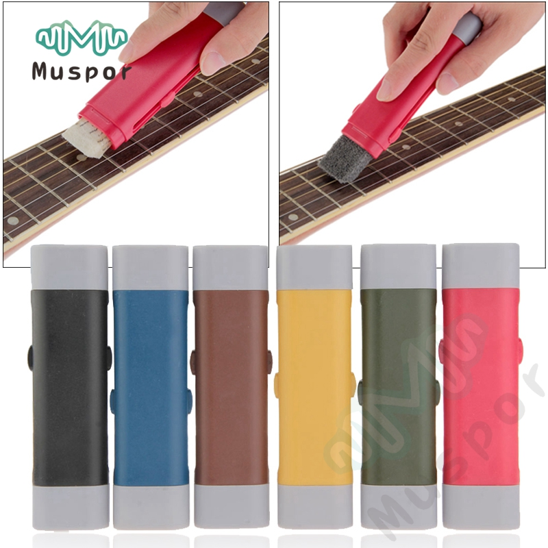Musical Instruments Guitar Bass Rust Cleaning Tool String Fingerboard Cleaner Lubricant Polish String Rust Remover Pen Rust Cleaning Remove Brush 2019 New Fashion Style Online