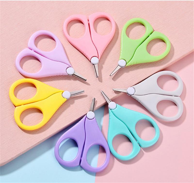 Безопасные кусачки для ногтей, ножницы, резак для новорожденных, удобный ежедневный детский инструмент для маникюра, ножницы для ногтей