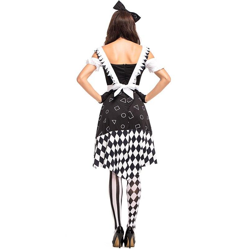 Alice nel paese delle meraviglie Costume Donna Alice-ABITO CUORE FIABE-Costume da donna-Costume