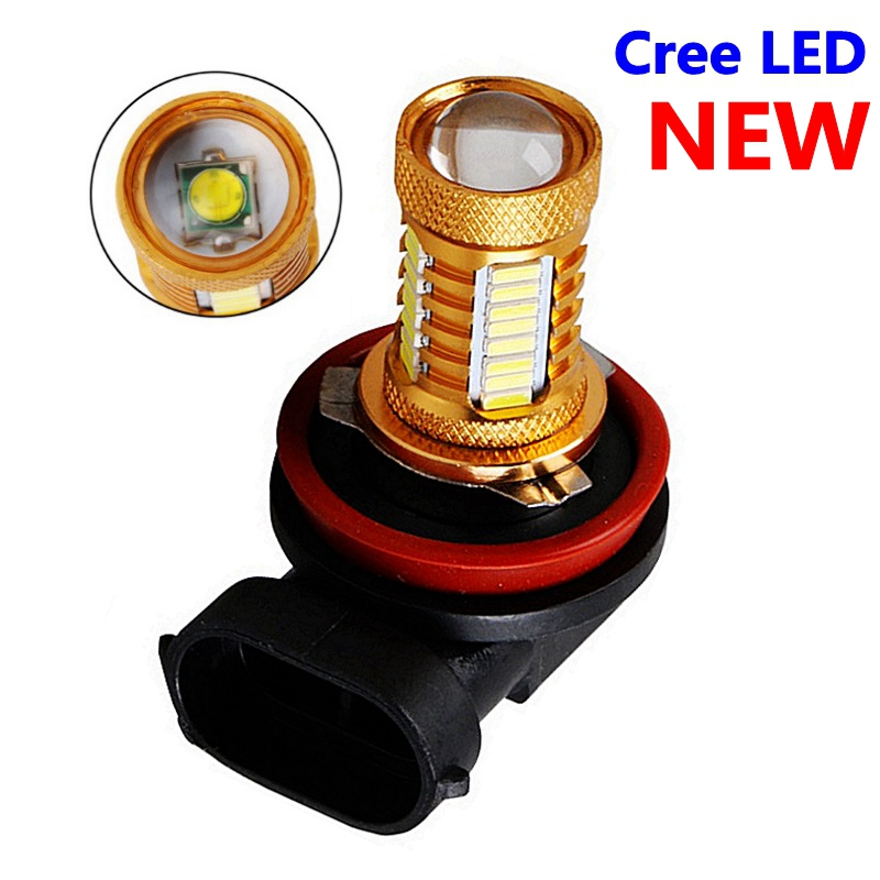 1 шт., H11 H8 H9 9006 HB4, супер яркий CREE чип, светодиодная Автомобильная передняя противотуманная фара, автомобильная противотуманная фара, лампа дл...