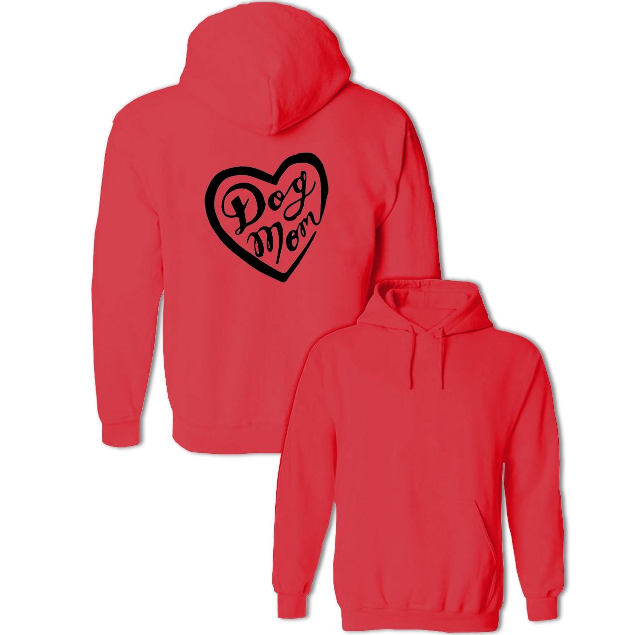 Смешная собака мама надписи Графический Пуловеры для женщин Кофты Для женщин Для мужчин хлопковые толстовки с капюшоном для девочек и маль...
